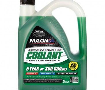 #NULON #COOLANT - L/L GRN COOLANT 5Lt