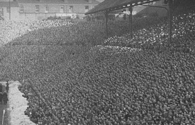 St Andrews record attendance FAC 1939 V Everton - 67,341,The Kop