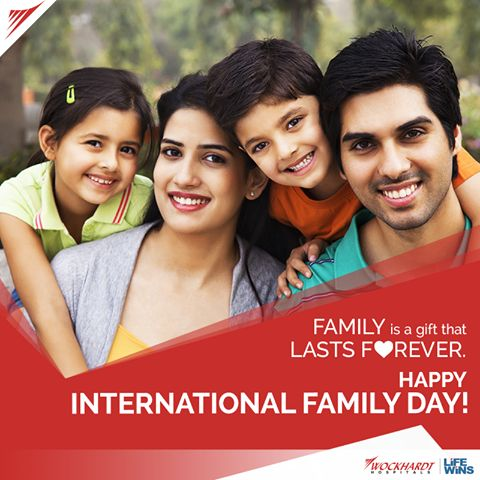 On #InternationalFamilyDay, ensure your family's safety by getting their health checked at Wockhardt Hospitals. To avail our health checkup packages, enquire today: http://bit.ly/2contactWockhardt