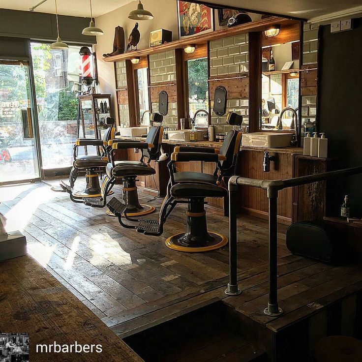 barbershop see more see this instagram photo by modernbarbermag 238 likes - Barber Shop Design Ideas
