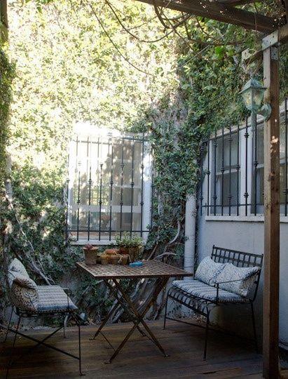 Outdoor cozy exteriors