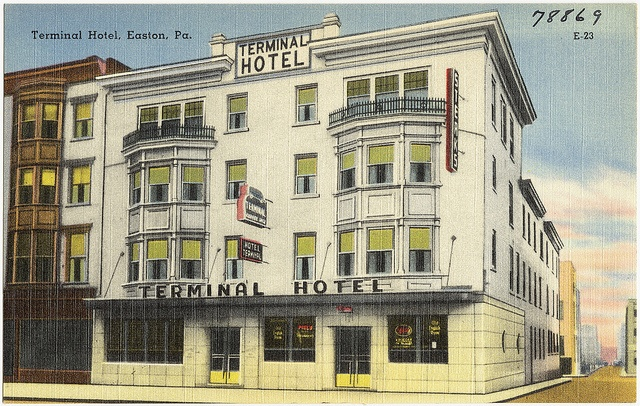 Terminal Hotel Easton Pa Boston Public