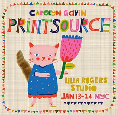 print & pattern: PRINTSOURCE - lilla rogers studio