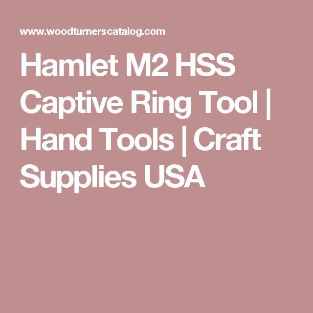 Hamlet M2 HSS Captive Ring Tool   Hand Tools   Craft Supplies USA