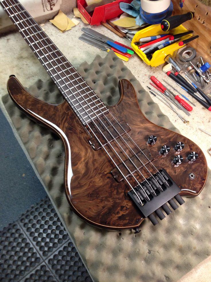 New headless bass. Basses Pinterest Bass