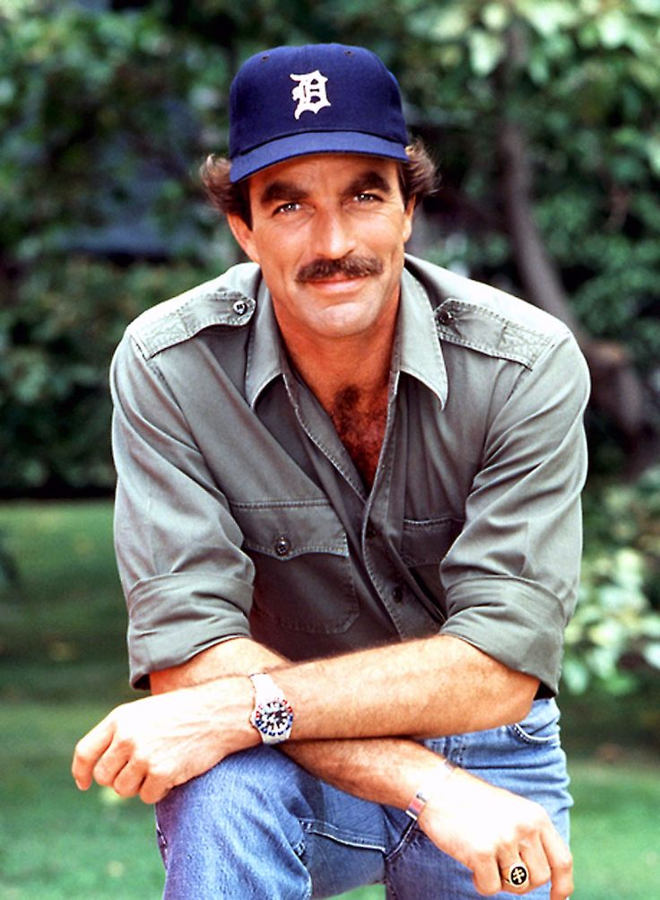 Tom Selleck As Magnum Pi Rolex Gmt Master 800×1091 Wallpaper
