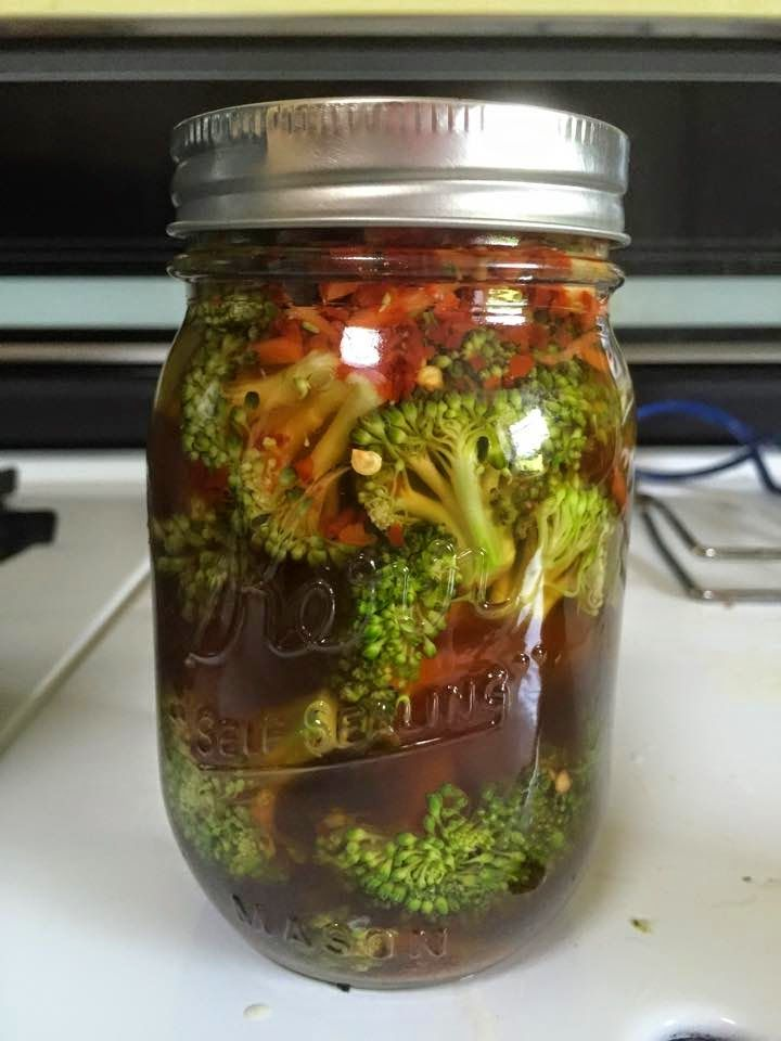 Canning Craze: Spicy Pickled Broccoli