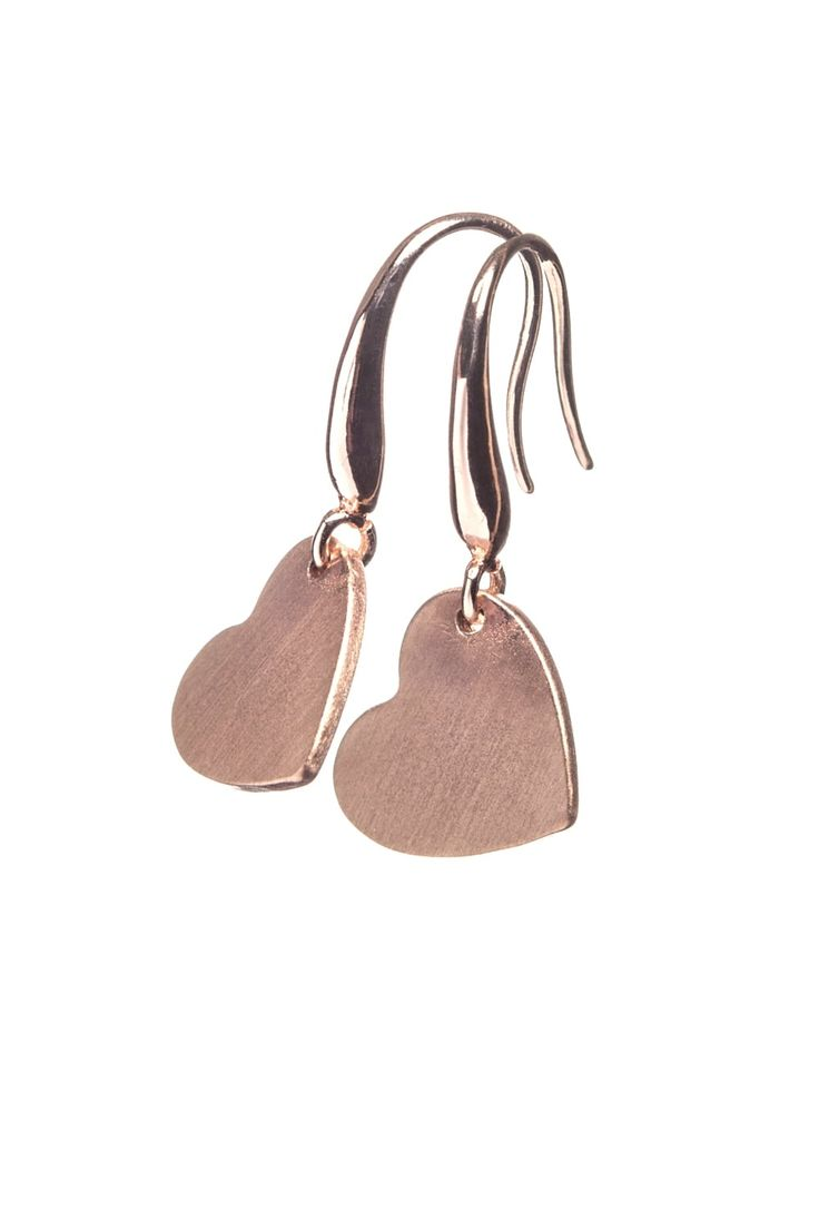 Scratched Heart Earrings  http://www.mistral-online.com/accessories-c10/jewellery-c43/necklaces-c77/scratched-heart-earrings-rose-gold-p28190