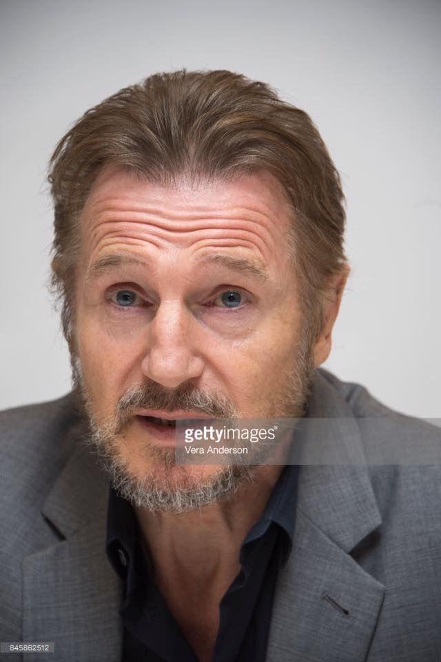 Liam Neeson in Toronto for Mark Felt publicity.
