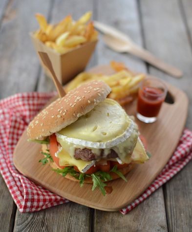 Burger French Cheese