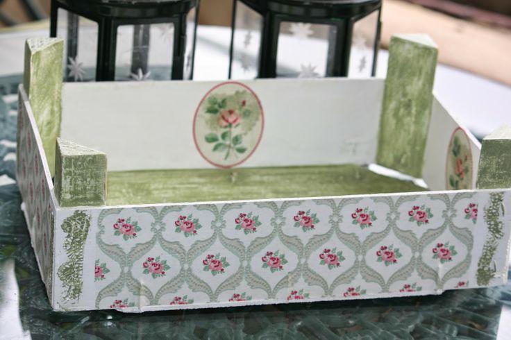 81 best images about cajas de frutas decorada on pinterest - Manualidades con cajas de frutas ...