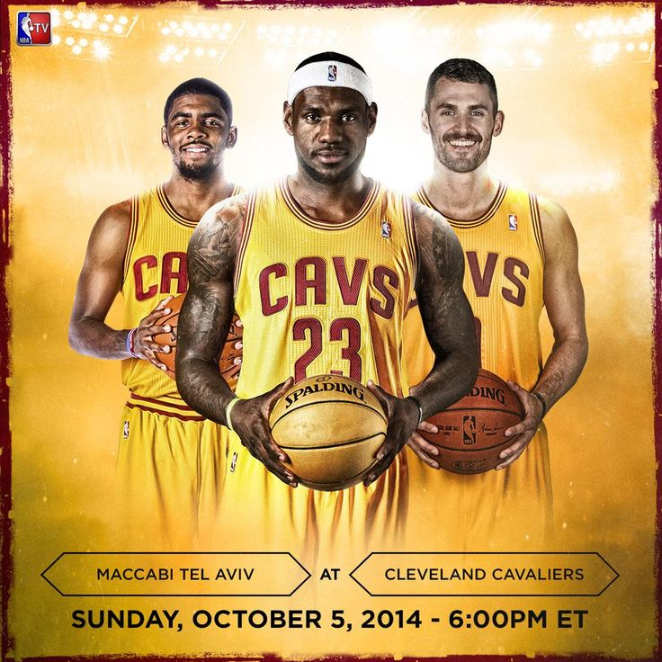 TONIGHT!  NBA TV gives you the first look at the @Cavs' new trio