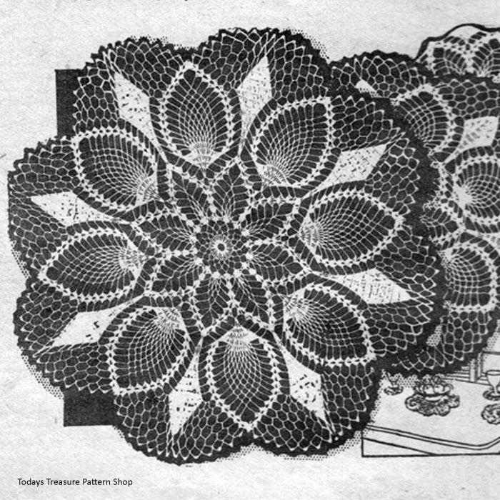 471 besten Crochet Dollies Bilder auf Pinterest | Häkelzierdeckchen ...