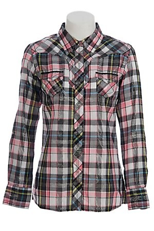 Ariat Button Down from Cavenders...I like!Cowgirls Shirts, Westerns Cowgirls, Country Westerns, Pink Westerns, Westerns Clothing, Ladie'S, Cowgirls Stuff, Westerns Shirts, Black