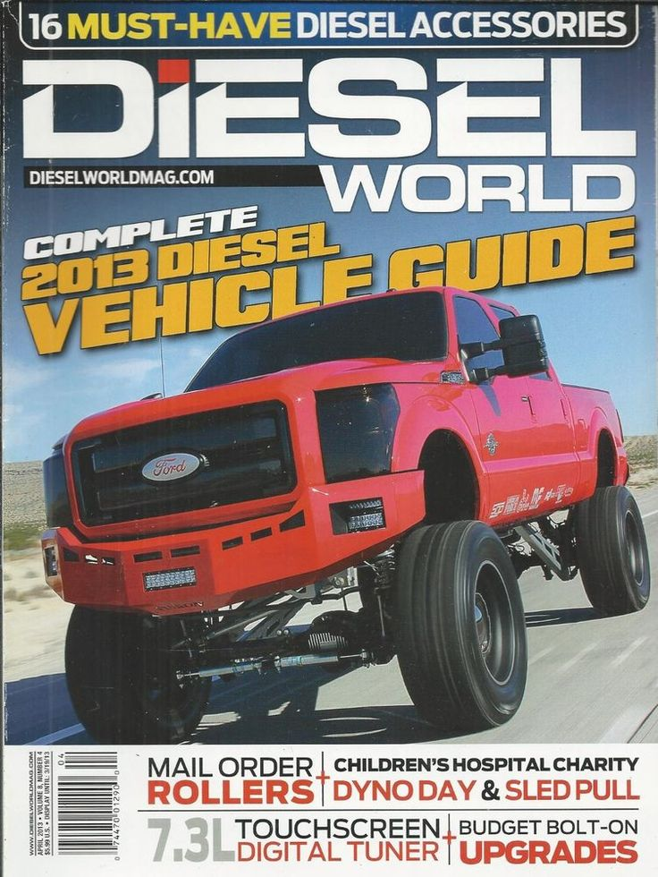Diesel World magazine Complete vehicle guide Accessories Touchscreen tuner