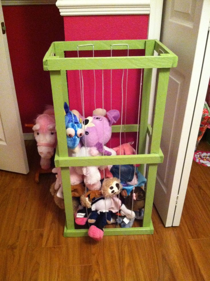 Stuffed Animal Toy Storage: You Pick Color. $23.50, Via Etsy