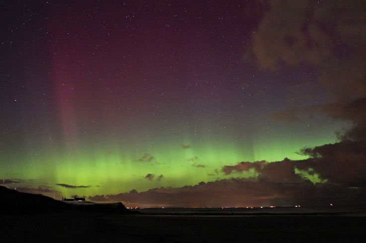 'Highly commended' in the youth category. Northern Lights came on a rare visit English over the sky at Cresswell Beach in northeast England. The young photographer spotted the light from the window of his room and persuaded his mother to take him to the beach - away from city light pollution. Photo: Jonathan Farooqi.