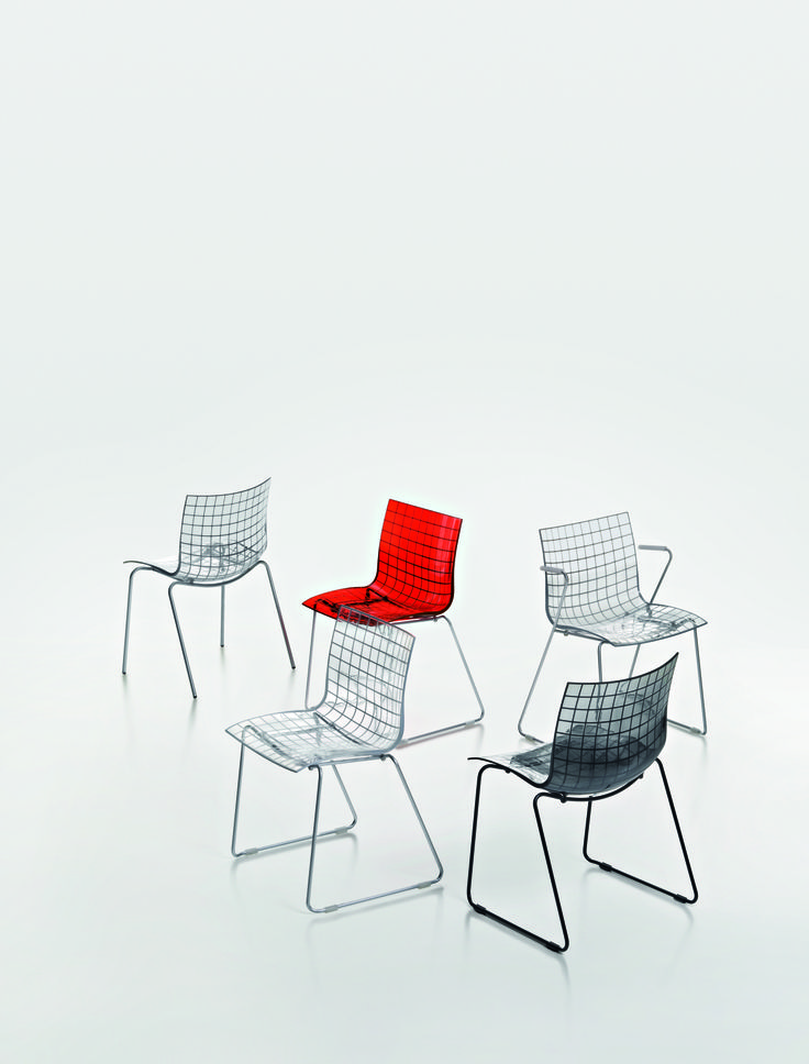 Design chair x3 from MaxDesign, designer Marco Maran - www.rohde-grahl.nl