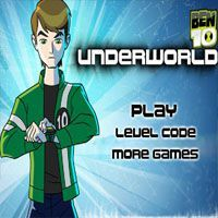 Play Ben 10 Underworld Game kevin rapidly appeared and kidnapped Gwen. Ben must fight the way from side to side the underworld before it's too late.