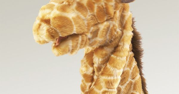 Folkmanis Giraffe St - Folkmanis Giraffe Stage Puppet --- #Theaterkompass #Theater #Theatre #Puppen #Marionette #Handpuppen #Stockpuppen #Puppenspieler #Puppenspiel