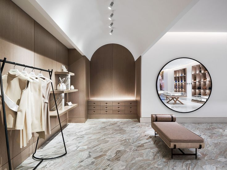 The Shape Of Things Yabu Pushelberg Designs Ports 1961s Shanghai Flagship PushelbergBest Interior DesignRetail