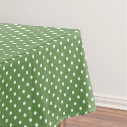 Polka dots tablecloth - kitchen gifts diy ideas decor special unique individual customized