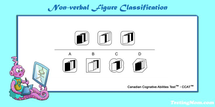 Can your child solve this nonverbal figure classification