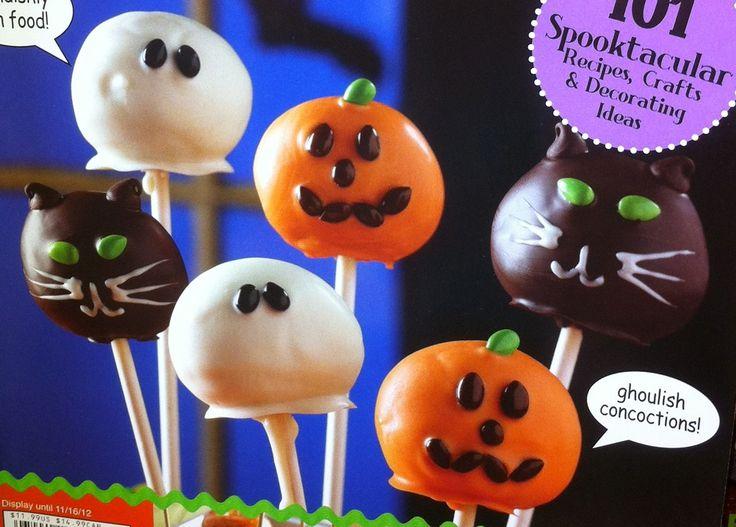 Easy Halloween Cake Pop Ideas Halloween Decorations Ideas Pinte