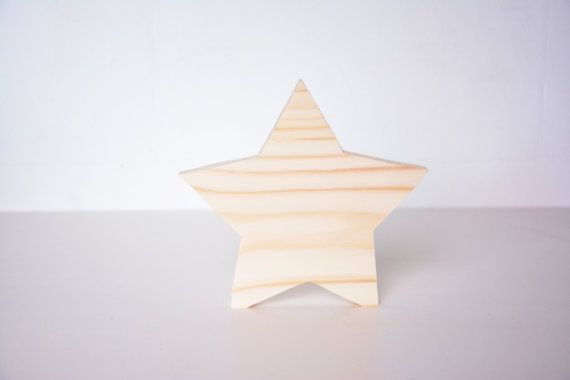 wooden standing star, medium Christmas decor, winter bedroom season holiday table window decoupage blank shape, DIY unfinished cutout shape