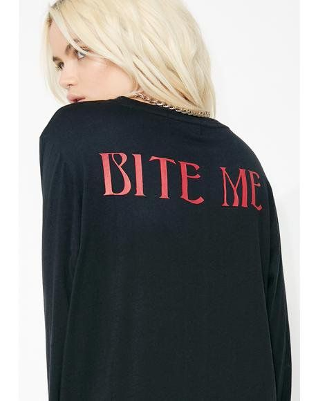 69614bae Bite Lips Long Sleeve Tee | Style | Sexy halloween costumes, Halloween  costumes, Halloween