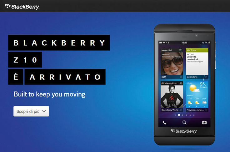 L'importanza di chiamarsi Blackberry