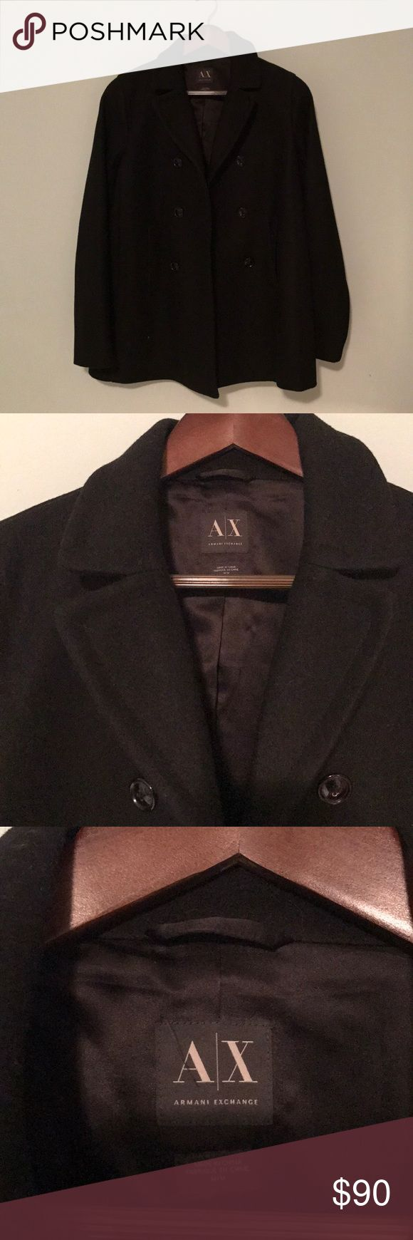 Armani Exchange coat Used it about 3 times. Looks brand new. Has no tags A/X Armani Exchange Jackets & Coats Utility Jackets