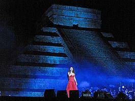 Sarah Brightman - saw the Harem tour