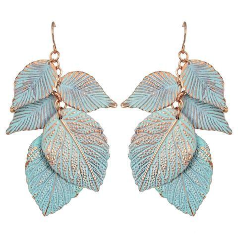 Leaf With Me Earrings