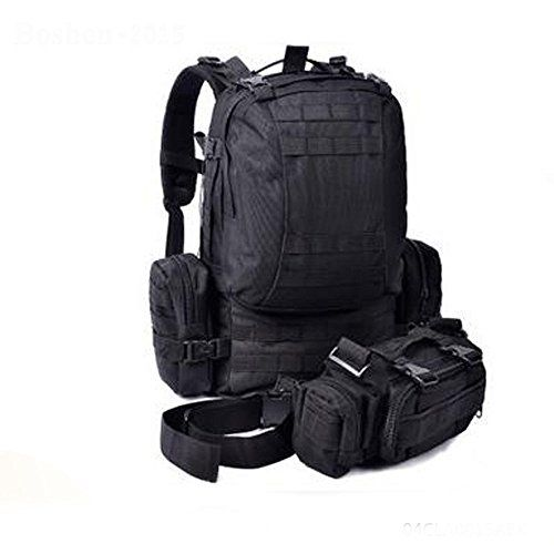 Purplbox 50L Assult Tactical Molle Military Backpack Rucksack Camping Hiking Trekking Bag * This is an Amazon Affiliate link. Visit the image link more details.