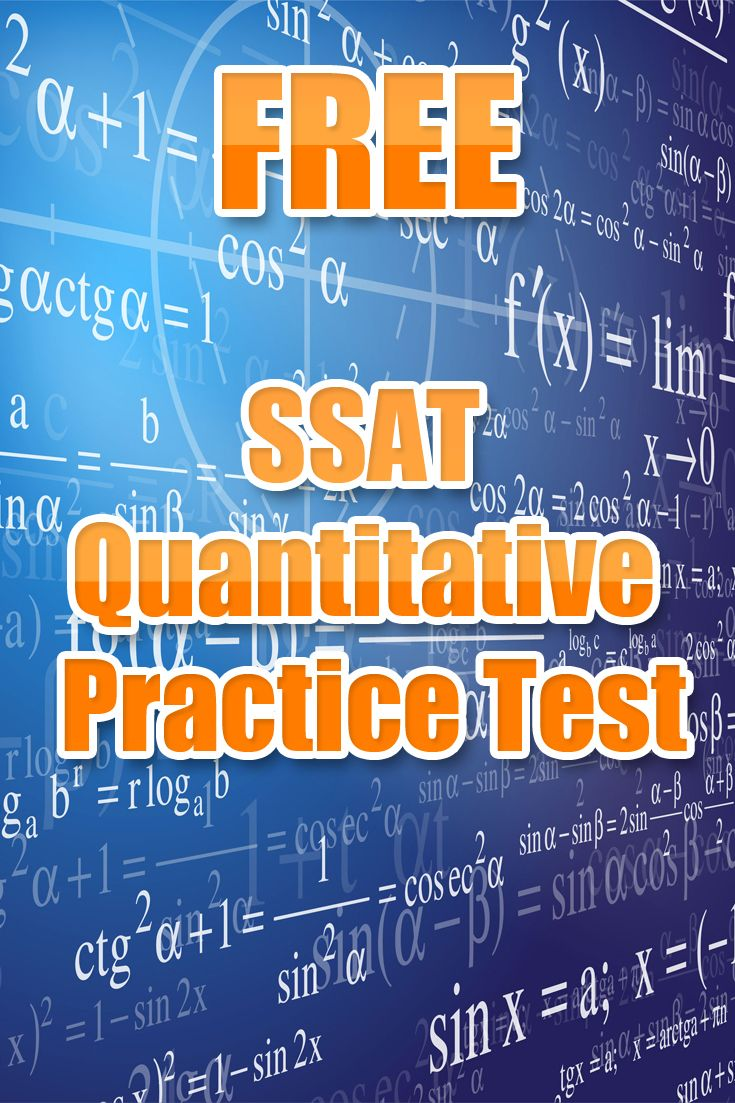 12 best SSAT Test Study Guide images on Pinterest | School ...