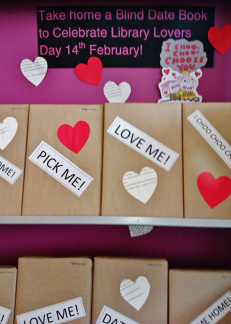 Love is in the air with Library lovers day - Blind date with a book @ Canada Bay Libraries.