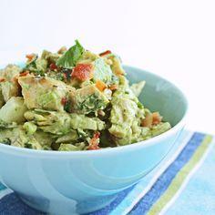 Southwestern Chicken Salad w/ Bacon & Avocado - I Breathe... I'm Hungry...