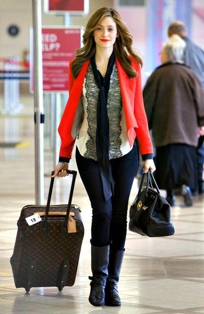 海外セレブ最新画像・私服ファッションブログ DailyCelebrityDiary*#02-エミー・ロッサム