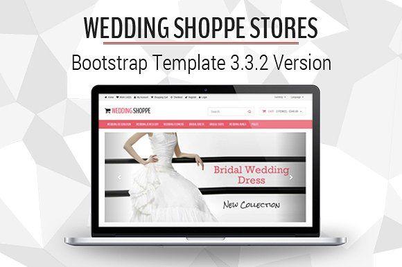Wedding Shoppe Stores by Sainath Chillapuram on @creativemarket