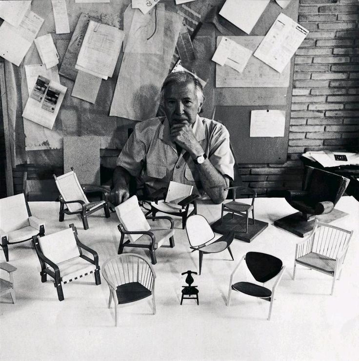 Hans J Wegner and his chairs