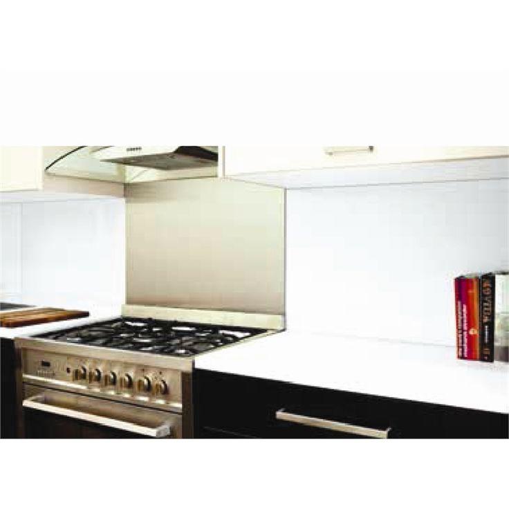 Highgrove 1500mm Winter White Glass Splashback I/N 5102146 | Bunnings Warehouse