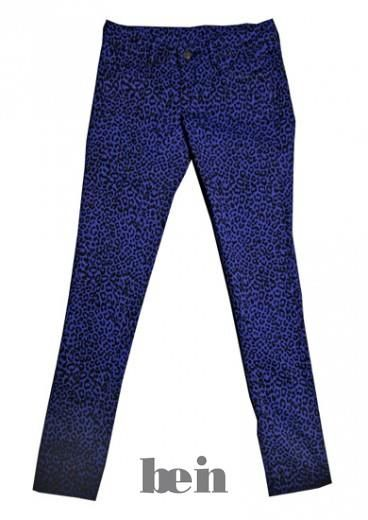 Где купить узкие фиолетовые брюки