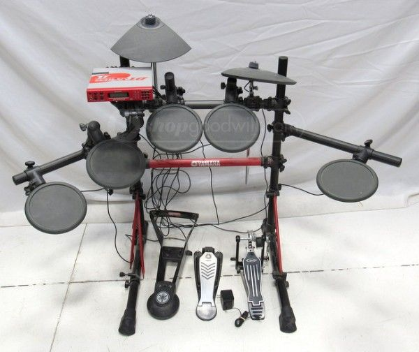 Beginner or pro? This Yamaha Electric Drum Set is for you!  Auction ends at February 26 at 9:45 p.m. MT Online sales help support programs and services for our military veterans!