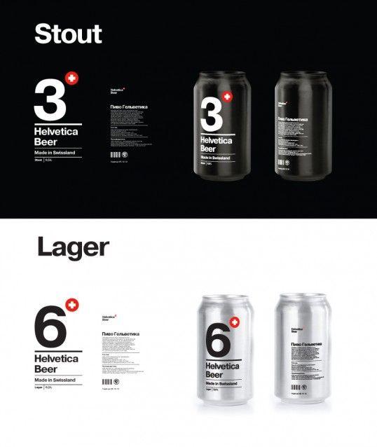 Helvetica Beer. PD