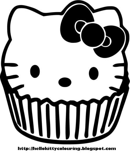 Hello Kitty Skull Coloring Pages : Hello kitty skull coloring pages