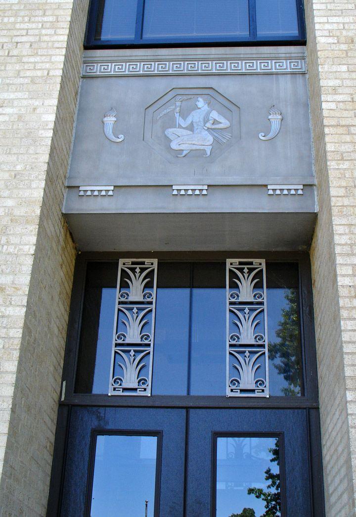 Daniel Webster High School, Art Deco, Tulsa, Oklahoma - Travel Photos by  Galen