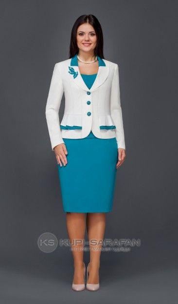 Lissana 2236 белый - Комплекты с юбкой - купить в Санкт-Петербурге на kupi-sarafan.ru