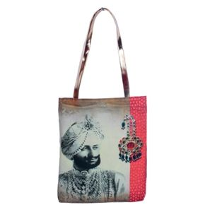 Bejeweled Raja #Totebag #Bags #Fashion #Accessories