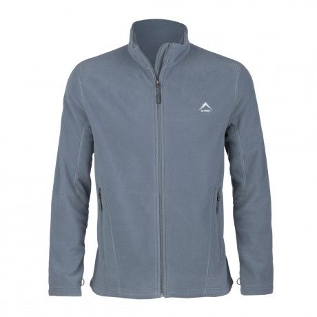 K-Way's Valiant is a full-zip medium-weight fleece made from polyester microfibre with a double-sided anti-pill finish. A durable water repellency-coating keeps you dry in wet weather; an adjustable hem helps prevent cold air from entering under the jacket; and four-needle flatlock stitching reduces bulky seams for added comfort.